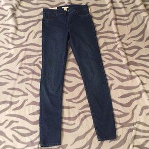 Hm skinny stretch jeans size 6 nwt